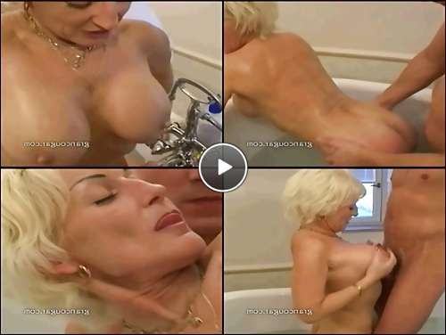 older women ass video
